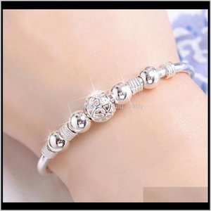 Drop Delivery 2021 Transfer Bead Adjustable Bangle Bracelets For Women Delicate Ball Charm Bracelet Jewelry Gifts Ps0203 Ayluk