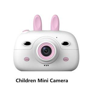 Игрушки камеры 2.4 дюйма экрана дисплей экрана 18mp передняя задняя задняя Двойная вспышка Po камеры детские цифровые 1080P видео подарок