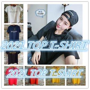 2020 Top Mens T Shirts Paris Black White Mens T Shirts Fashion T Shirts Top Short Sleeve Size S-XXL