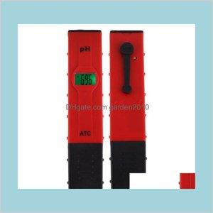 Ph Meters Analyzers Measurement & Analysis Instruments Office School Business Industrial 50Pcsdigital Meter 0-14 Pen-Type Pool Aquariu