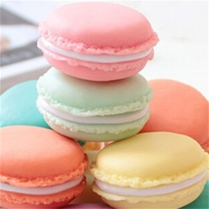 Candy Color Macaron Mini Cosmetic Jewelry Storage Box Pill Cute Case Birthday Gift Display Boxes For Earrings 311 Q2