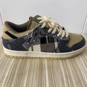 В США Warehouse Dunk SB Travis Scotts кроссовки кроссовки высочайшего качества спортивные мужчины женщины размером 38-45 с половиной