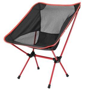 Ultralight Dobrável Cadeira de Pesca Camping Churrasco Caminhadas Piquenique Ferramentas ao ar livre Viagem Travel Beach Seat Acessórios