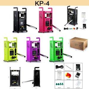 EE.UU. Warehouse 100% original LTQ VAPOR KP-4 Rosin Bolsa Máquina de prensa de calor KP4 Rey de Potencia 4 toneladas Presión sobre la abrazadera Calefacción Demonio Killer DIY Kit de herramientas