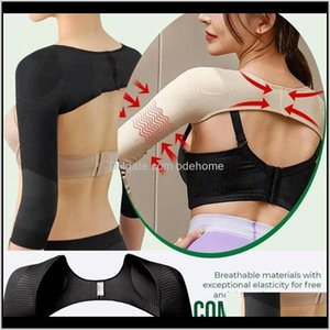 Support Safety Athletic Outdoor Accs Sports & Outdoors Drop Delivery 2021 Slimming Back Posture Corrector Arm Shaping Sleeves Fat Reduction F
