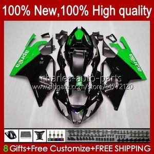 Bodywork For Aprilia Mille RV60 RSV 1000 R 1000R 1000RR RSV1000R 04-06 Body 11No.124 RSV-1000 RSV1000RR 2004 2005 2006 RSV1000 R RR 04 05 06 Moto Fairing Kit grey green