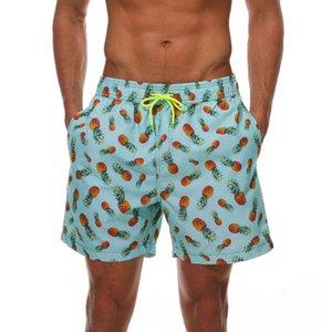Men's Swim Trunks Quick Dry Beach Shorts with Pockets Superior Fashion Board Shorts Men Printed Beach Swimming Mens Gym Short Pants 12