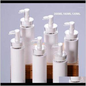 Storage Jars 1Pc 10200Ml Emulsion Spray Pump Cosmetics Empty Refillable Bottles Pressed Lotion Body Wash Skin Care Shampoo1 N4Sq1 Pyskd