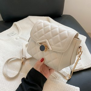HBP Net red minority small bag female summer versatile new fashion Lingge chain texture One Shoulder Messenger Bag