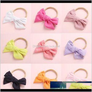Rubber Bands Bohemian Knot For Women Children Fashion Bow Tie Hairpins Girls Satin Ribbon Ponytail Clip Hair Accessories J9Qxq Zyefi
