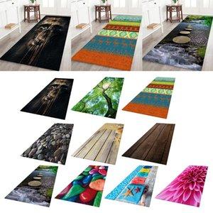 Carpets 3D Living Room Area Rug Runner Anti-Skid Floor Mat Carpet