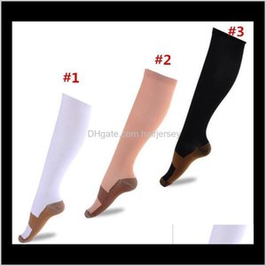 Leg Shaper Body Sculpting Slimming Health & Beauty Drop Delivery 2021 Copper Anti Fatigue Stockings Unisex Pain Relief Sports Running Magic S