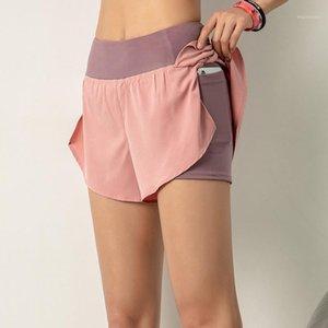 Chrlusure Femmes Shorts Summer Casual Taille High Taille Fitness Shorts de Jogger Femmes Anti-éblouissement Entraînement rapide Dry Sec respirant1