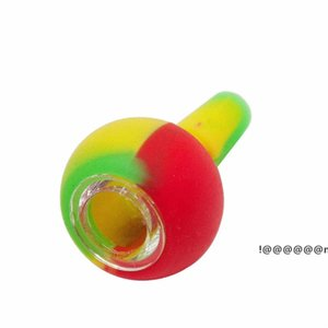 14mm Dual Use Silicone Herb Bowl Adapter Ash Catcher for Glass Bongs Water Pipe Silicone Smoking Stuff EWF3270
