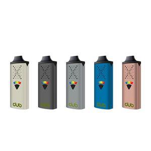 Authentic DUB Kit Dry Herb Vaporizer 1200mAh Vape Mod 5 Level Temperature Control Preheat Battery 1.3ml Atomizer Genuine