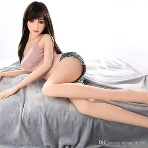 157cm Silicone Tpe Sex Doll Mannequin Adult Oral Vagina Anal Sex Love Doll Sexy Toys Big Breast and Big Ass Lifelike 148cm 158cm 140cm Q0413