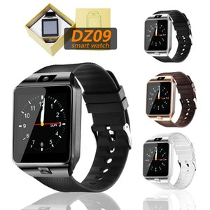 Smart Watches DZ09 Sim Plantband Sim Intelligent Android Sport per cellulari Relógio Inteligente con batterie di alta qualità Telefono Bluetooth
