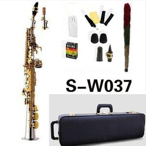 High Quality Japan Yanagisawa S-W037 B flat Soprano Saxophone Musical Instruments Brass Nickel Plated With Case Professional