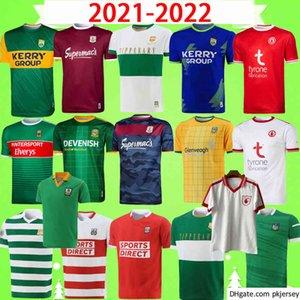 17 styles 2021 Dublin GAA Home Training rugby Jersey 21 22 ÁTH CLIATH shirt uniform DAVID TREACY TOM CONNOLLY Retro size S-5XL T-shirt uniform 2022