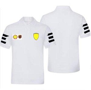 Summer F1 Formule One Championnat T-shirt à manches courtes en jersey à séchage rapide