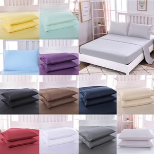 20*30 inches Cotton Pillowcase 12 Colors Envelope Pillow Case Skin-Friendly Ultra-Soft Pillowslip Bedding Supplies