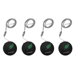 Air Purifiers 4X Personal Wearable Purifier Necklace Mini Portable Freshner Ionizer Negative Ion Generator