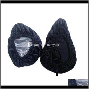 Panniers Bags Bicycle Seat Cover Waterproof Covers Rain Proof Mountain Bike Universal Portable Reusable Anti Wear 1 4Cof1 Bsmei Glauj