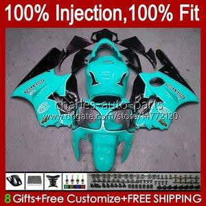 Injection mold OEM For KAWASAKI NINJA ZX 12 R 1200 CC ZX1200C ZX1200 C 2000 2001 Body 2No.138 ZX12R 00 01 ZX 1200 12R 1200CC Bodywork ZX-12R 00-01 ABS Fairing cyan black