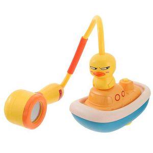 1 Set Kids Toddler Bath Bathtub Auto Water Spray Duck Toy Baby Shower Gift
