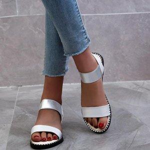 Women PU Leather Shoes Comfy Platform Flat Sole Ladies Casual Soft Big Toe Foot Correction Sandal Orthopedic Bunion Sandals