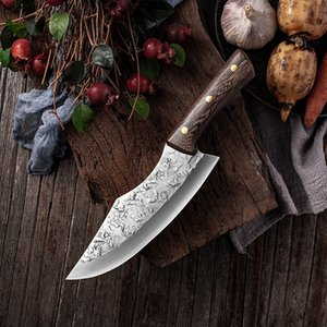 CHUN Boning Knife Chef Slicing Utility Santoku Cleaver Japanese High Carbon Knives Hand-Made Full Tang Handle Kitchen Butcher