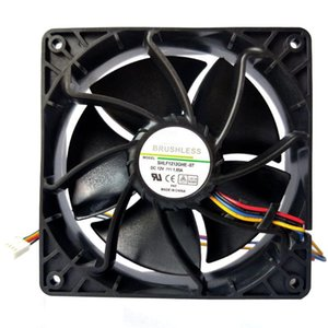 120x120x37 Mm Replacement Cooling Fan 4-pin Connector Cooler Silent Case Fans For Antminer Bitmain S7 S9 & Coolings