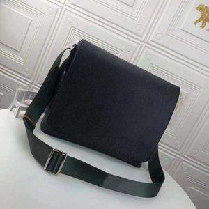 Классический высококачественный роскошный дизайнер сумка сумка для мужского района Сумки на ремне натуральные кожаные сумки сцепления Tote Messenger Shopgers Ships Manking 2 Размер Бесплатный корабль