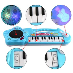 Musical Instrument Toy Baby Kids Piano Infants Teclado electrónico Educativo Early Intellectual Juguete para niños Regalo 1012 V2