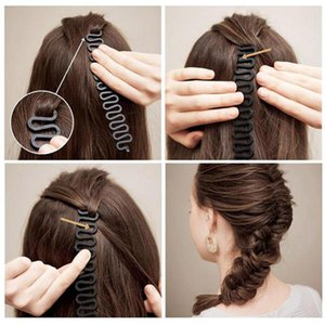 1pc Black Hair Styling Clip Braid Maker Bun PP Tool Hair Accessories Easy operate hair styling tools braid accessories