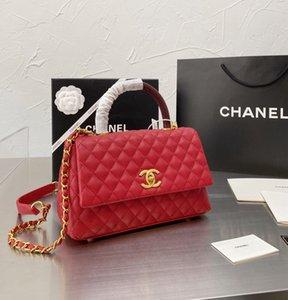 Women luxury designer handbags Handbag tote bag Crossbody Messenger Shoulder Chain Good Quality Leather Purses High Capacity V-shape Rhombic Grid 004