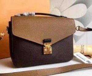 Высокое качество PU кожаные женские сумки Pochette Metis сумки на плечо мода кродрь сумки мессенджер Bagm40780 28x6x25cm