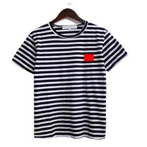 Mens T Shirts Black White Of The Coin Men Fashion Stylist women Top Couple Sleeve Tricolor stripe short S-XXL
