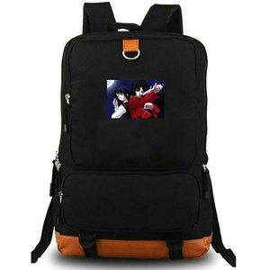 Kara no Kyoukai backpack Ryougi Shiki daypack Kokutou Mikiya schoolbag Cartoon rucksack Sport school bag Outdoor day pack