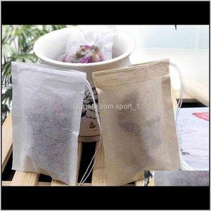 Ferramentas de café 60 x 80mm de madeira filtro de papel filtro descartável filtros saco único dstring curar selo selo sacos de chá sem lixívia ir verde za1 vut3z