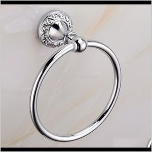 Rings Hardware Bath Home & Garden Drop Delivery 2021 Sus 304 Stainless Steel Accessories Define Chrome The Shield Sier Towel Ring Bathroom Pr