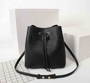 Handbags Purses shoulder bags leather bucket bag women famous bra design high quality Cross Body
