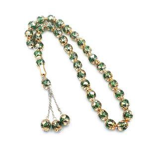 Muslim Prayer Beads Round Bead Tesbih Rosary Islamic Tasbeeh Scriptures Tasby Worship Supplies