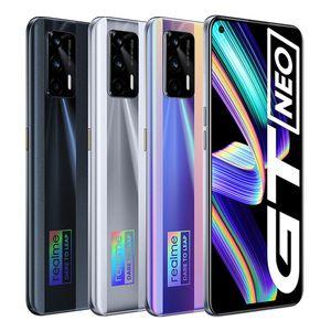 Original Realme GT Neo 5G Mobile Phone 12GB RAM 256GB ROM MTK Deminsty 1200 64MP AI 4500mAh Android 6.43 inch AMOLED Full Screen Fingerprint ID Face NFC Smart Cellphone