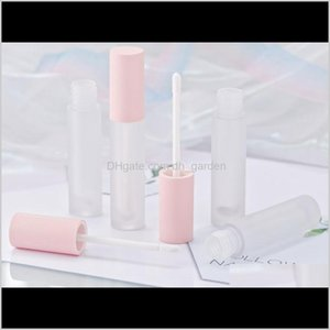 Bottles Packing Office School Business & Industrial Drop Delivery 2021 Diy Pink Containers Empty Frosted Glaze Tube Mini Lip Gloss Split Bott