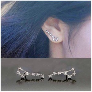 Stud CAOSHI Fashion Female Earrings Daily Wearable Accessories Brilliant Zirconia Delicate Design Wedding Jewelry Statement Gift