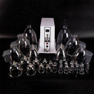 진공 요법 바디 슬리밍 지방 제거 엉덩이 리프팅 펌프 - 진공 흡입 컵 확대 기계 림프 배수 35 컵