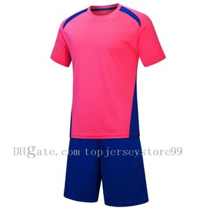 2021 Soccer Sets Summer pink Student Games match training Guangban club football suit