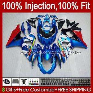 Инъекция для Suzuki GSXR-750 GSXR600 Blue Glossy New GSXR 600 750 CC 10HC.3 GSXR750 11 12 13 14 2015 2016 2017 K11 GSXR-600 600CC 750CC 2012 2012 2013 2014 15 16 17 17