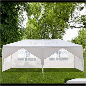 Shade 10X20Ft Outdoor Patio Wedding Tent 6 Window Walls Zipper Door Canopy Party Heavy Duty 3X6M Waterproof Gazebo Pavilion Cater Even Sfp1J
